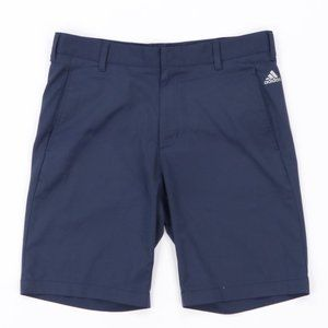 Adidas Spell Out Golfing Golf Shorts Navy Blue 32